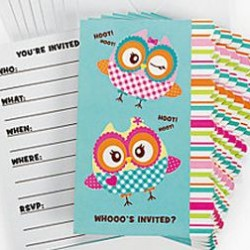 You're A Hoot Owl Invitations & Envelopes