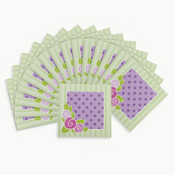 Tea Party Beverage Napkins