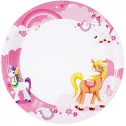 Pretty Pony Plates