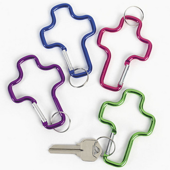 Cross Clip Key Chain
