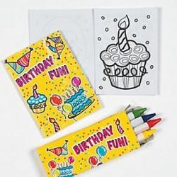 Mini Birthday Fun Activity Set