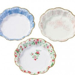 Tea Party Truly Scrumptious Cake Plates