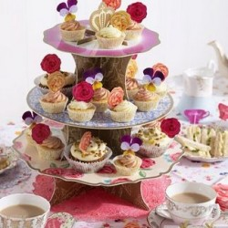 Tea Party Truly Scrumptious Cake Stand