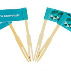 Allergy Riders Dairy Free Food Flags