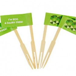 Allergy Riders Egg & Dairy Free Food Flags
