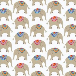 Wrapping Paper Circus Elephant