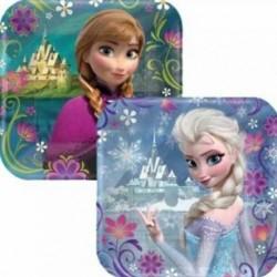 Disney Frozen  Elsa / Anna Dessert Plates