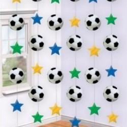 Soccer Hanging Swirls