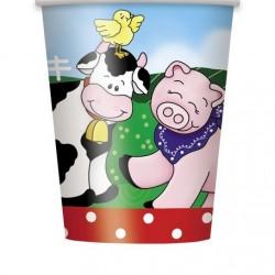 Farm Friends Cups