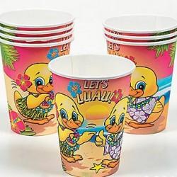 Luau Ducky Cups