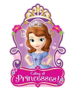 Disney Sofia The First Invitations