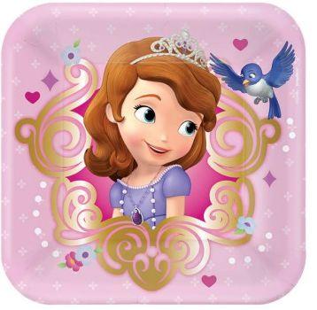 Disney Sofia The First Plates