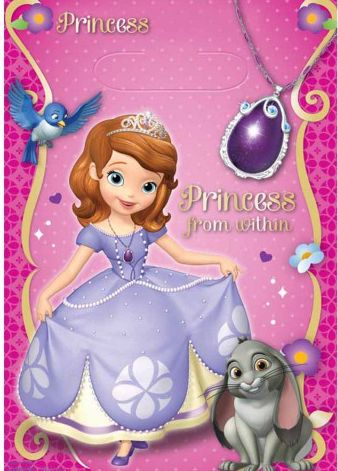 Disney Sofia The First Loot Bags