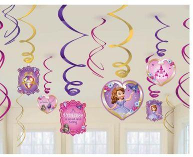 Disney Sofia The First Swirls