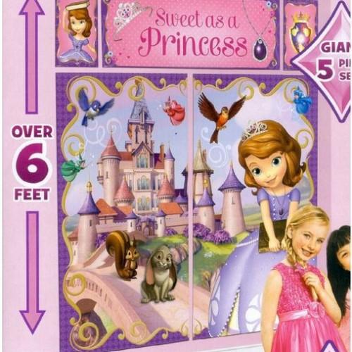 Disney Sofia The First Scene Setter Kit