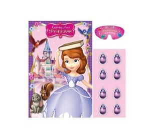 Disney Sofia The First Party Game