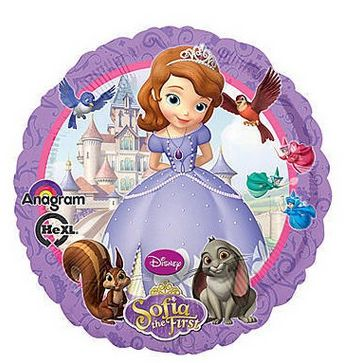 Disney Sofia The First Foil Balloon