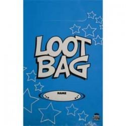 Loot Bag Plastic Blue