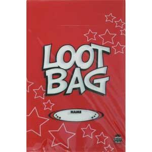 Loot Bag Plastic Red