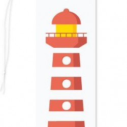 Gift Tag Lighthouse