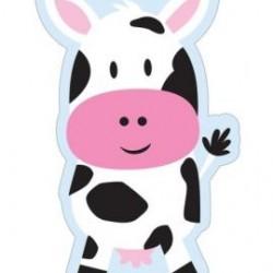 Loot Bag Farmhouse Fun Shaped Cow