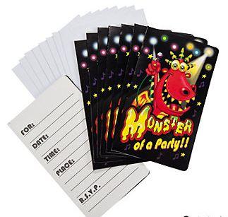 Monster Bash Invitations & Envelopes