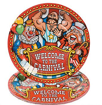 Carnival Plates