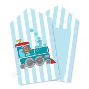 Little Train Gift Tag