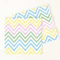 Chevron Rainbow Napkins