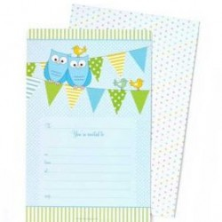 Blue Owl Invitations