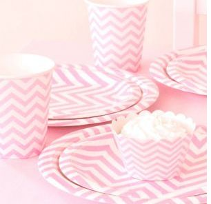 Chevron Pink Party Pack