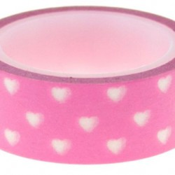 Washi Tape Little Hearts Pink