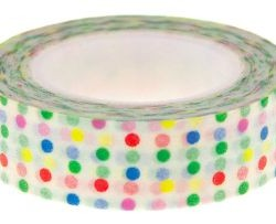 Washi Tape Little Dots Rainbow