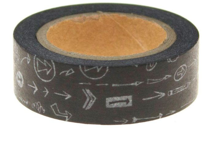 Washi Tape Sketches Black