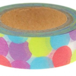 Washi Tape Rainbow Spots