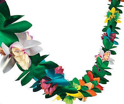 Jungle Flower Garland