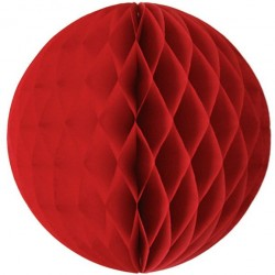 Tissue Honeycomb Red Ball