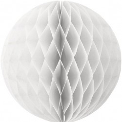 Tissue Honeycomb White Ball