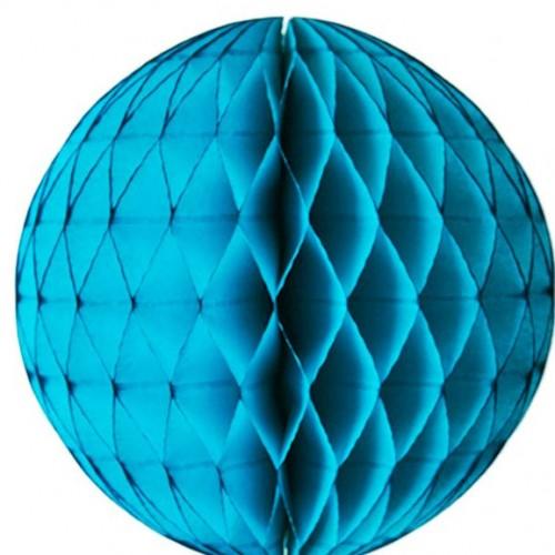 Tissue Honeycomb Blue Ball