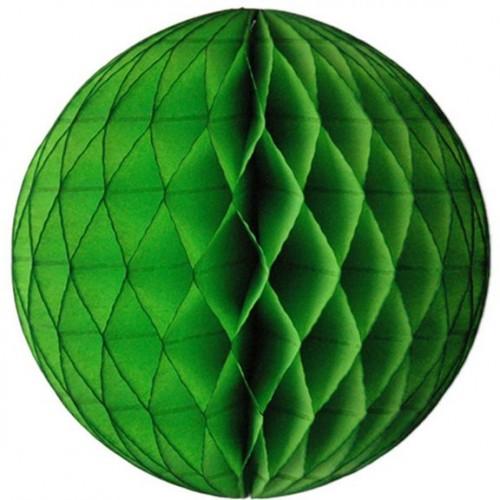 Tissue Honeycomb Lime Green Ball