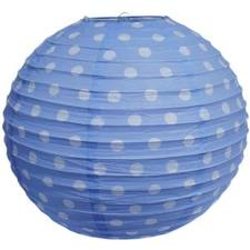 Lantern Polka Dot Blue