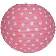 Lantern Polka Dot Pink