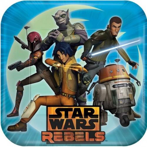 Star Wars Rebels Large Plates