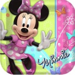 Minnie Mouse Bow-tique Plates