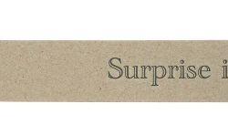 Gift Tag Surprise Inside Kraft Letterpress