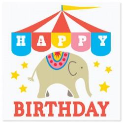 Card Circus Elephant