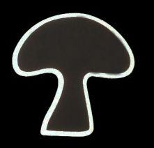 Chalkboard Mushroom Peg