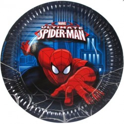 Spiderman Ultimate Plates
