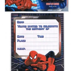 Spiderman Ultimate Invitations