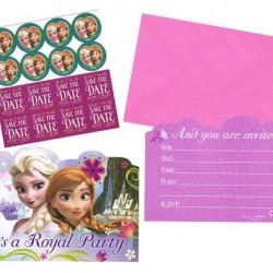 Disney Frozen Invitations Set